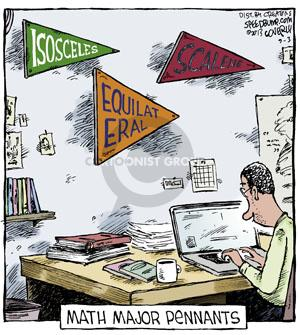 Cartoonist Dave Coverly  Speed Bump 2013-09-03 college