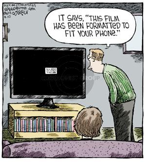 Comic Strip Dave Coverly  Speed Bump 2013-09-10 movie film
