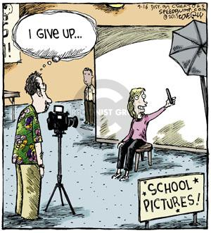 I give up … School Pictures!