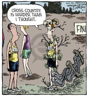Comic Strip Dave Coverly  Speed Bump 2013-10-01 runner