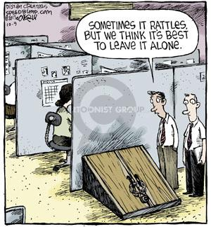 Cartoonist Dave Coverly  Speed Bump 2013-10-09 leave