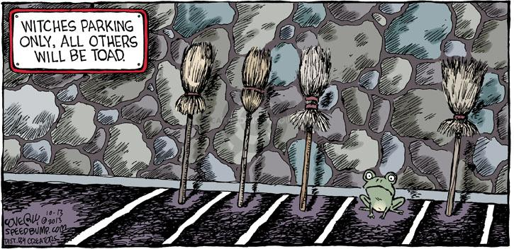 Comic Strip Dave Coverly  Speed Bump 2013-10-13 frog