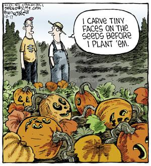 Comic Strip Dave Coverly  Speed Bump 2013-10-17 plant