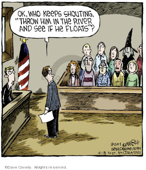 Cartoonist Dave Coverly  Speed Bump 2013-10-18 jury