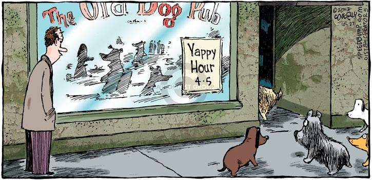Comic Strip Dave Coverly  Speed Bump 2013-10-27 old dog