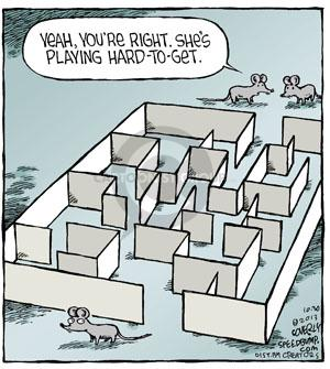 Comic Strip Dave Coverly  Speed Bump 2013-10-30 get