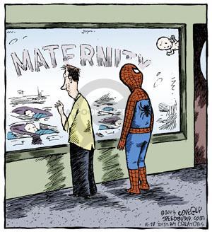 Cartoonist Dave Coverly  Speed Bump 2013-11-20 hero