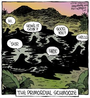 Comic Strip Dave Coverly  Speed Bump 2013-11-22 'sup