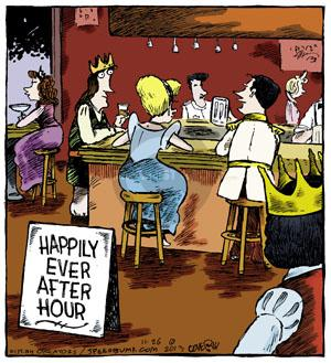 Comic Strip Dave Coverly  Speed Bump 2013-11-26 hour
