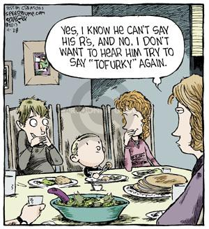Comic Strip Dave Coverly  Speed Bump 2013-11-28 vegetarian