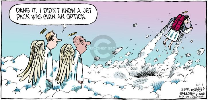 Comic Strip Dave Coverly  Speed Bump 2013-12-01 option