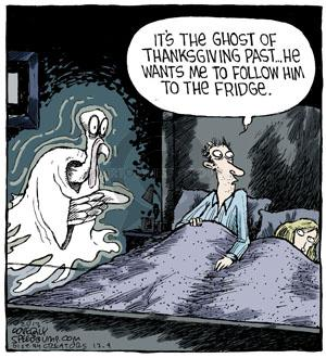 Comic Strip Dave Coverly  Speed Bump 2013-12-04 Thanksgiving