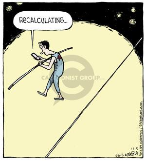 Cartoonist Dave Coverly  Speed Bump 2013-12-05 system