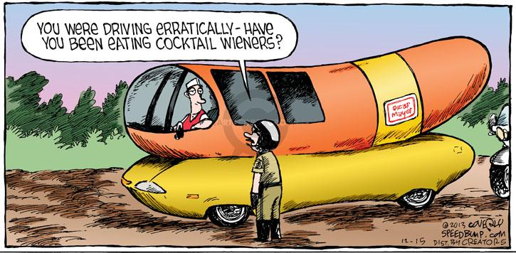 Comic Strip Dave Coverly  Speed Bump 2013-12-15 violation
