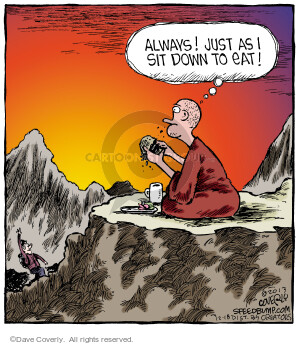 Comic Strip Dave Coverly  Speed Bump 2013-12-18 lunch