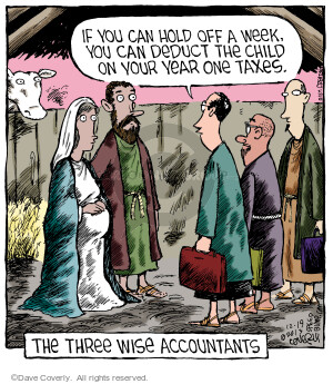 Comic Strip Dave Coverly  Speed Bump 2013-12-19 financial advice