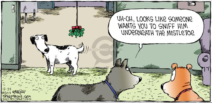 Comic Strip Dave Coverly  Speed Bump 2013-12-22 instinct