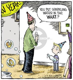 Comic Strip Dave Coverly  Speed Bump 2013-12-31 party