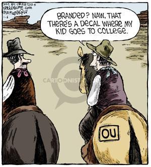 Cartoonist Dave Coverly  Speed Bump 2014-01-06 university