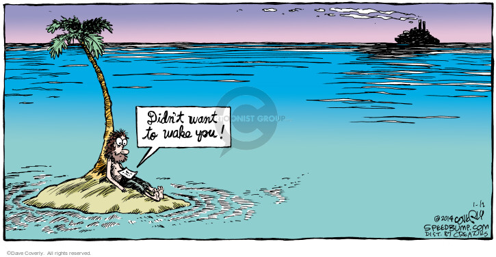 Comic Strip Dave Coverly  Speed Bump 2014-01-12 note