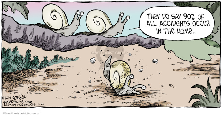 Comic Strip Dave Coverly  Speed Bump 2014-01-26 snail