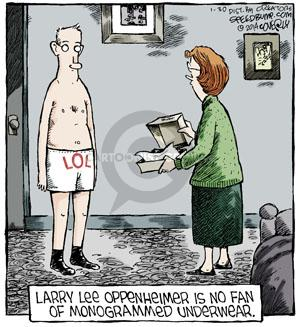 Comic Strip Dave Coverly  Speed Bump 2014-01-30 Larry