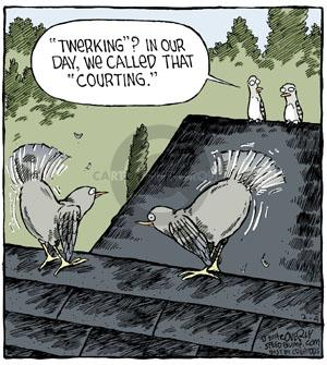 Comic Strip Dave Coverly  Speed Bump 2014-02-04 mating