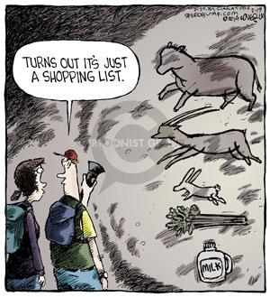 Comic Strip Dave Coverly  Speed Bump 2014-02-19 cave painting