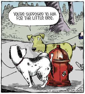 Cartoonist Dave Coverly  Speed Bump 2014-03-05 aim