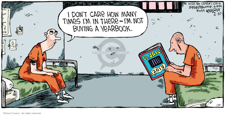 Comic Strip Dave Coverly  Speed Bump 2014-03-30 criminal