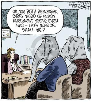 Comic Strip Dave Coverly  Speed Bump 2014-03-25 argument