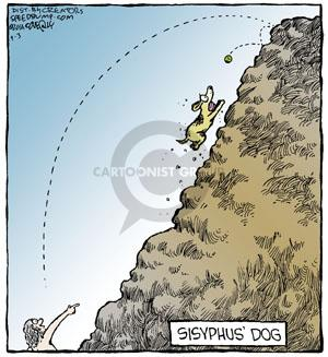 Comic Strip Dave Coverly  Speed Bump 2014-04-03 Greek mythology