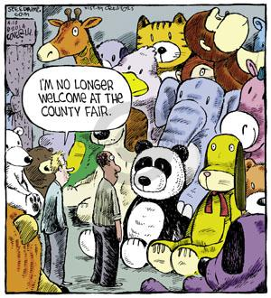 Comic Strip Dave Coverly  Speed Bump 2014-04-10 toy