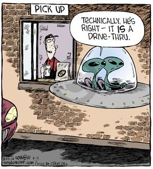 Comic Strip Dave Coverly  Speed Bump 2014-04-11 fast