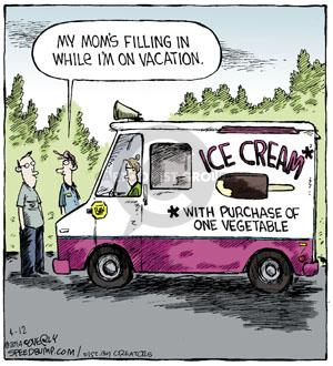 Comic Strip Dave Coverly  Speed Bump 2014-04-12 food truck