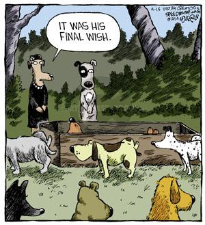 Comic Strip Dave Coverly  Speed Bump 2014-04-15 scent