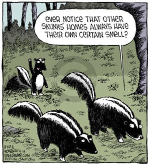 Comic Strip Dave Coverly  Speed Bump 2014-04-19 scent