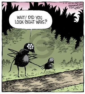 Comic Strip Dave Coverly  Speed Bump 2014-04-22 fly