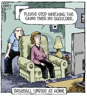 Comic Strip Dave Coverly  Speed Bump 2014-04-23 baseball