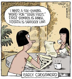 Comic Strip Dave Coverly  Speed Bump 2014-04-26 fourth
