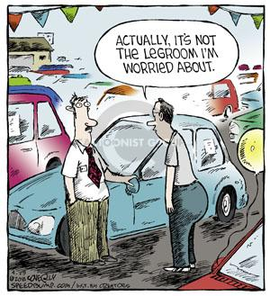Comic Strip Dave Coverly  Speed Bump 2014-04-29 big car