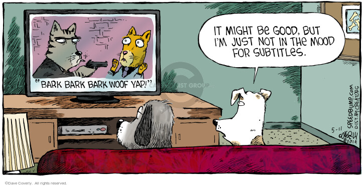 Comic Strip Dave Coverly  Speed Bump 2014-05-11 viewer