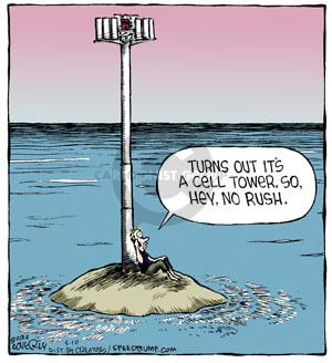 Comic Strip Dave Coverly  Speed Bump 2014-05-10 tower