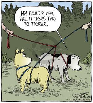 Comic Strip Dave Coverly  Speed Bump 2014-05-12 blame dog