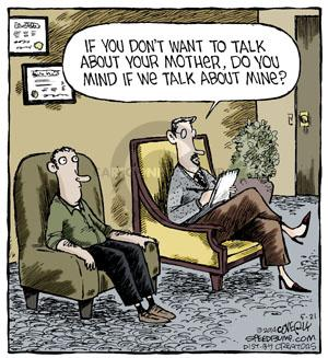 Comic Strip Dave Coverly  Speed Bump 2014-05-21 psychoanalysis