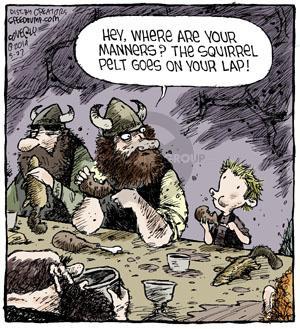 Cartoonist Dave Coverly  Speed Bump 2014-05-27 behavior