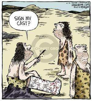 Comic Strip Dave Coverly  Speed Bump 2014-05-31 injure