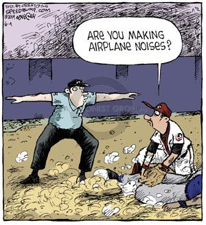 Comic Strip Dave Coverly  Speed Bump 2014-06-04 baseball