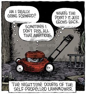 Cartoonist Dave Coverly  Speed Bump 2014-06-07 forward