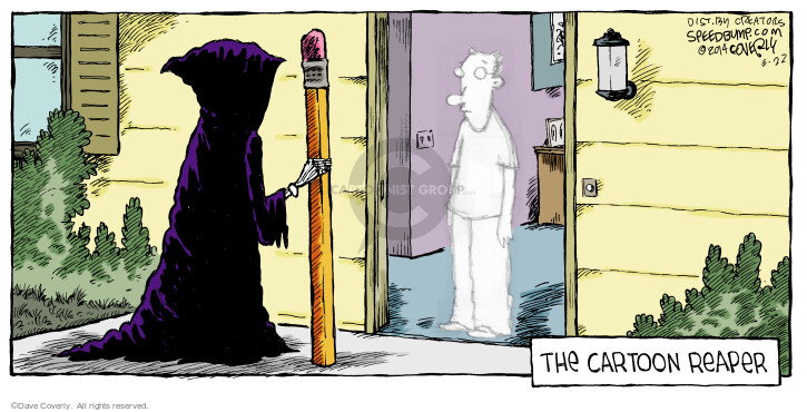 Comic Strip Dave Coverly  Speed Bump 2014-06-22 pencil